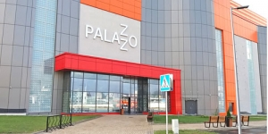 Скамейки, урны и велопарковки в ТРЦ Palazzo