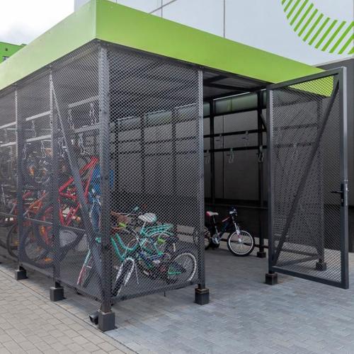Велобокс / Велогараж на 25 мест-3