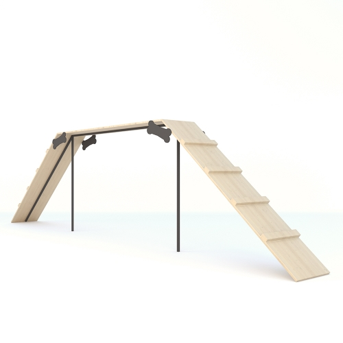 Спортивный снаряд для дрессировки собак Бум 2 (высота 1,25 м)